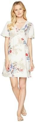 Wrangler Short Flutter Sleeve Dress with Crochet Women's Dress