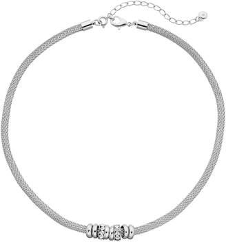wearable ART Rondelle Bead Mesh Necklace