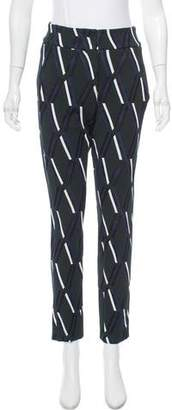 Tod's Skinny Printed Pants