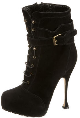 Brian Atwood Ankle Boots $180 thestylecure.com