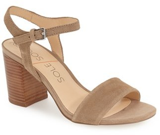 Women's Sole Society 'Linny' Ankle Strap Sandal $74.95 thestylecure.com