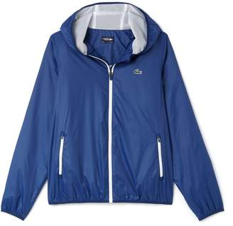 Lacoste Men's SPORT Hooded Technical Tennis Jacket