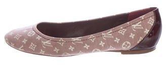 Louis Vuitton Monogram Idylle Round-Toe Flats