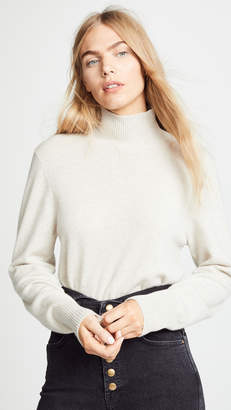 Le Kasha Vail Solid Cashmere Sweater