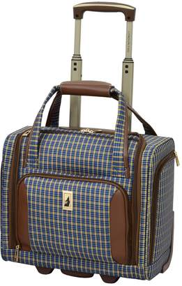 London Fog Kensington 15-Inch Wheeled Underseater Carry-on Luggage