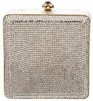 Judith Leiber Crystal-Embellished Minaudière $430 thestylecure.com