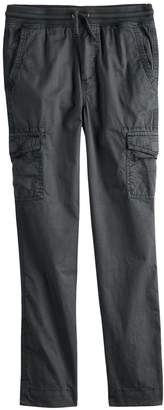 Boys 8-20 Urban Pipeline Knit-Waistband Cargo Pants