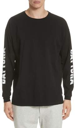 Stampd Metal Graphic Long Sleeve T-Shirt