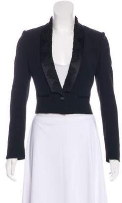 Dolce & Gabbana Structured Cropped Blazer
