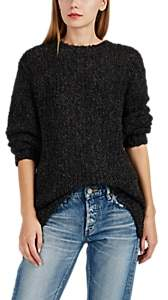 IRO Women's Crema Tie-Back Bouclé Sweater - Dark Gray Size Xs