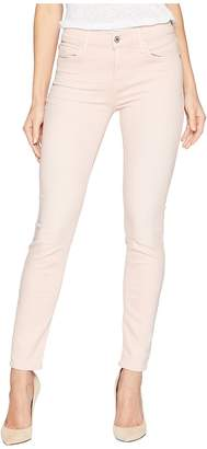 7 For All Mankind Ankle Skinny in Pink Tint Sandwashed Twill Women's Jeans