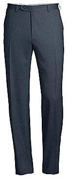 Canali Men's Stretch Wool Trousers