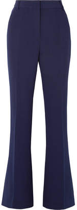 Rebecca Vallance Mimosa Stretch-crepe Bootcut Pants - Navy
