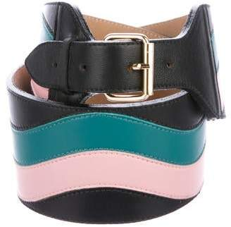 Sophie Theallet Leather Waist Belt w/ Tags