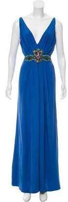 Blumarine Silk Evening Dress
