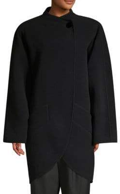 Marc Jacobs Wool-Blend Cocoon Coat