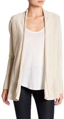 NIC+ZOE Open Front Linen Blend Cardigan $148 thestylecure.com