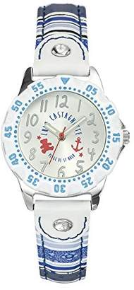 Lulu Castagnette Girl`s Analogue Watch with Money Dial Analogue Display - 38765