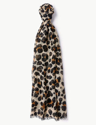 M&S CollectionMarks and Spencer Animal Print Scarf