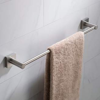 Kraus KRAUS Ventus 18-inch Bathroom Towel Bar, Brushed Nickel Finish