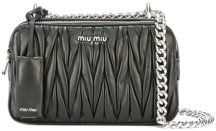 Miu MiuMiu Miu quilted shoulder bag