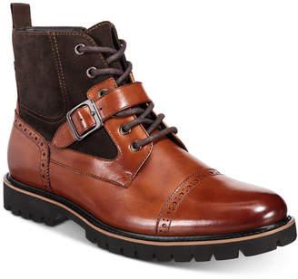 Bar III Rylee Buckle Boots, Men Shoes