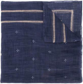 Brunello Cucinelli star pattern scarf