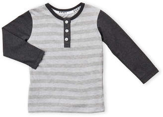 DKNY Toddler Boys) Striped Solid Sleeve Tee