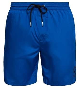 Burberry Logo Swim Shorts - Mens - Navy