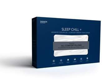 Fashion Bed Group Sleep Chill + Advanced Cooling Gel Memory Foam Pillow, King