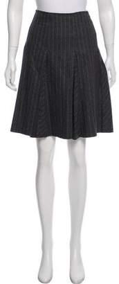 Paul Smith Wool Knee-Length Skirt