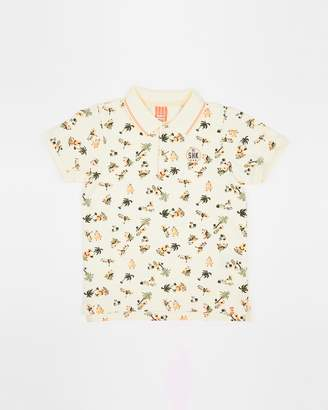 Scotch Shrunk All-Over Printed Polo - Teens
