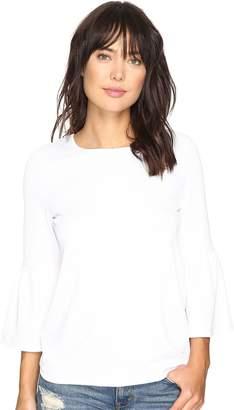 Kensie Stretchy Crepe Tees Top KS3K3387 Women's T Shirt