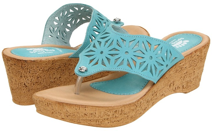 Spring Step Ariana (Turquoise) - Footwear