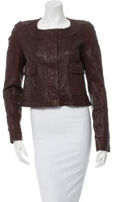 Thakoon Leather Jacket w/ Tags