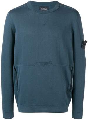 Stone Island Shadow Project zipped pocket sweater