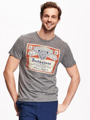 Budweiser® Graphic Tee for Men $16.94 thestylecure.com