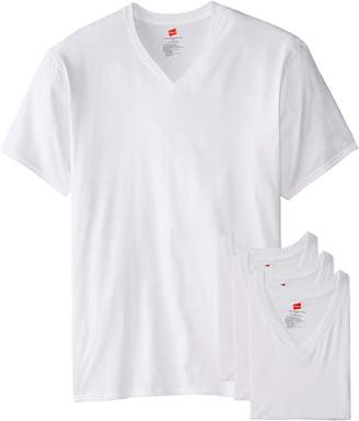 Hanes Men's Tall Man V-Neck T-Shirt