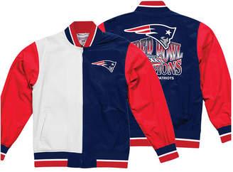 Mitchell & Ness Men New England Patriots Team History Warm Up Jacket 2