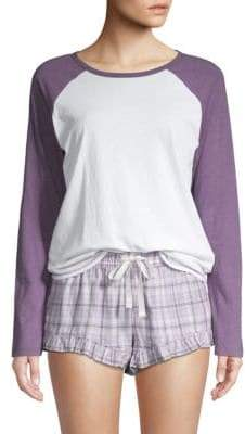 UGG Charly Raglan T-Shirt and Short Sleep Set