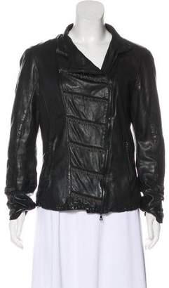 Drome Embellished Leather Jacket