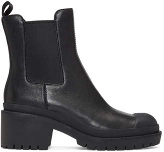 Marc Jacobs Black Lina Chelsea Boots