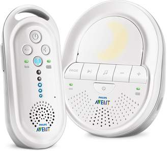 Philips SCD506/05 DECT Baby Monitor with Night Light and Lullabies