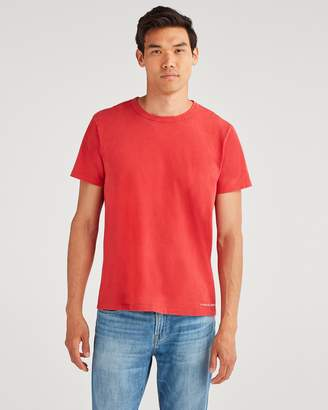 7 For All Mankind Common Tee in Vintage Tomato