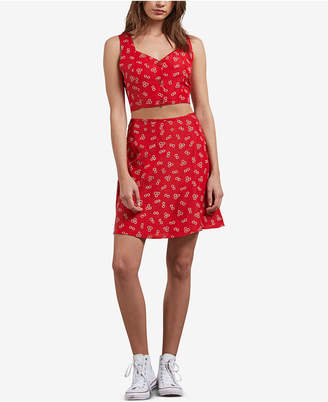 Volcom Juniors' Back in the Daisy Printed Skirt