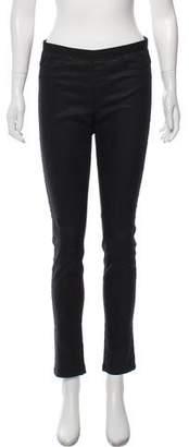 Helmut Lang Low-Rise Skinny Leg Pants