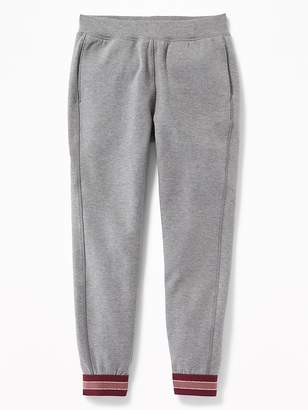 Old Navy Metallic-Cuff Track Pants for Girls