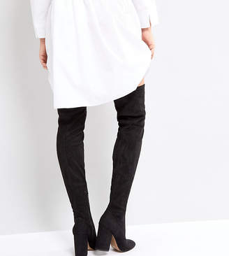 Asos KATCHER PETITE Heeled Over The Knee Boots