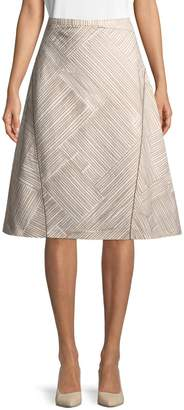 Piazza Sempione Women's Printed A-line Skirt