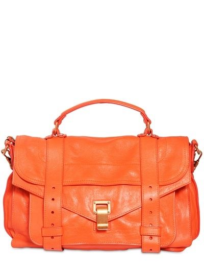 Proenza Schouler - Ps1 Medium Lux Leather Satchel